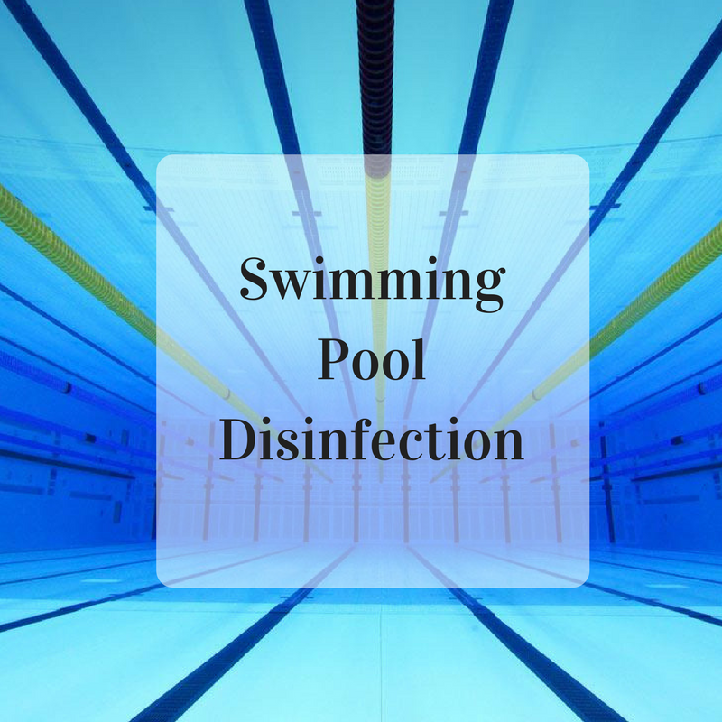Swimming pool disinfection with ESOL