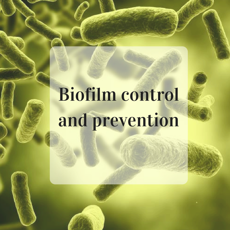 biofilm control and prevention