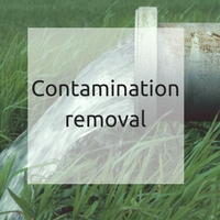 Contamination removal with ESOL and CRS