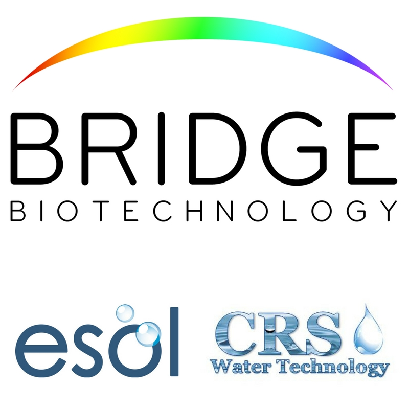 What part do Bridge Biotechnology play in the water disinfection industry?