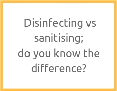 How dirty is my keyboard? Testing for bacteria around an officeDisinfecting vs sanitising; do you know the difference?
