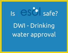 Is ESOL electrolyzed water safe - DWI drinking water approval