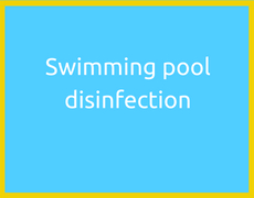 Swimming pool disinfection