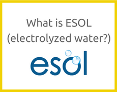 What is ESOL Electrolyzed water