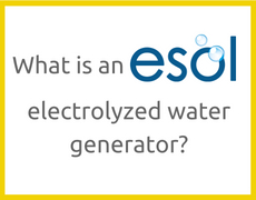What is an ESOL electrolyzed water generator?