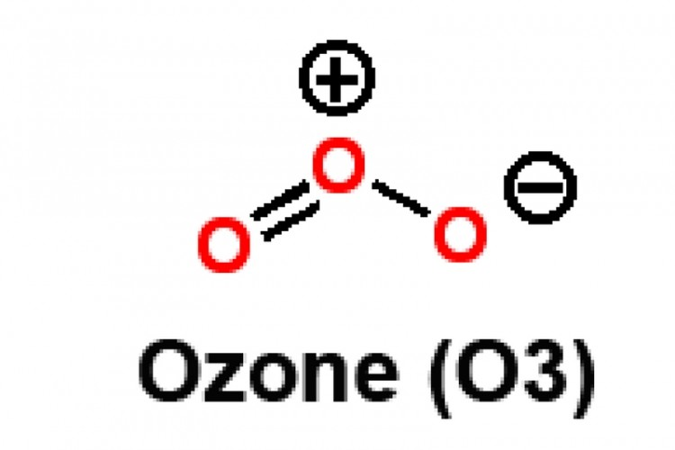 Ozone o3 structure - water disinfection