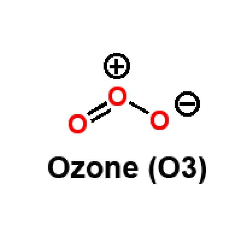 Ozone o3 structure water disinfection