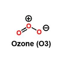 Ozone (O3) structure