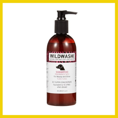 Wildwash dog shampoo