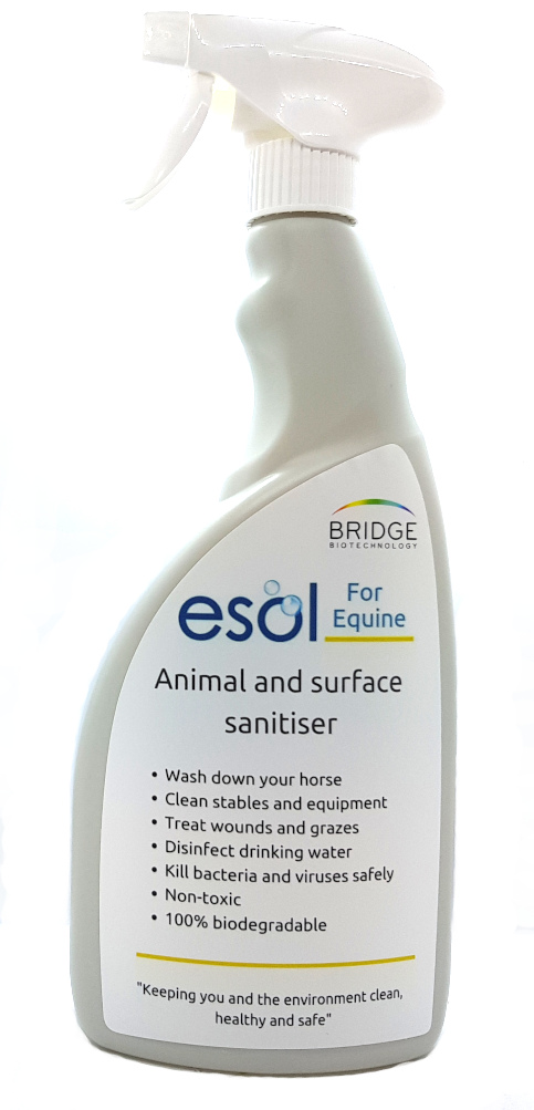 Equine disinfection ESOL for Equine Animal and Surface sanitiser