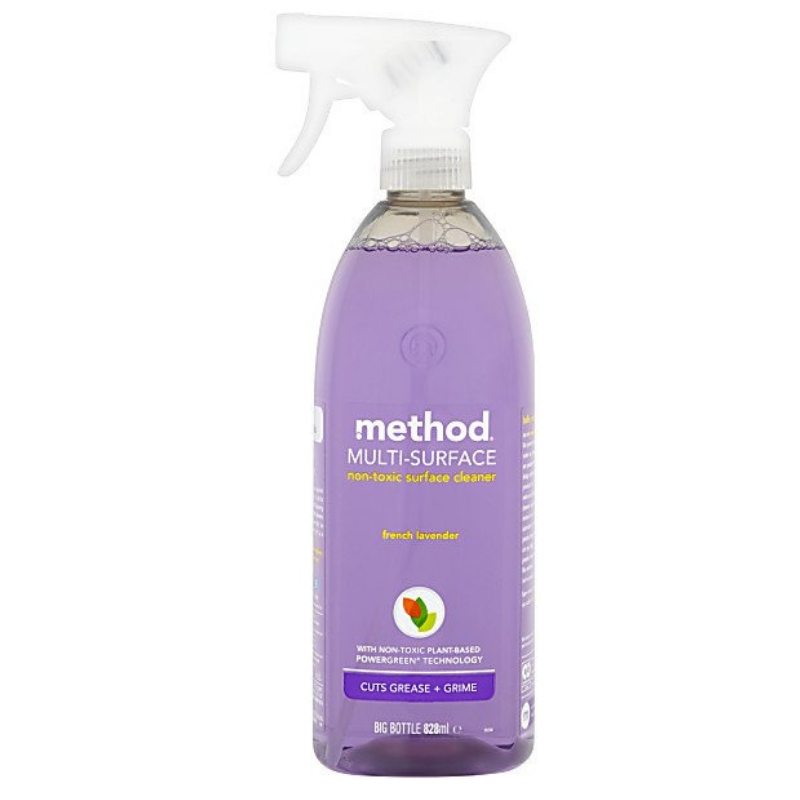 Method multi-surface spray