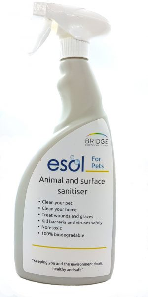 ESOL for pets santiser spray