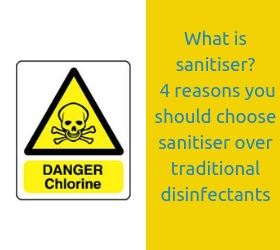 What is sanitiser_ – 4 reasons you should choose sanitiser over traditional disinfectants