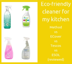 Eco-friendly cleaner for my kitchen (1)