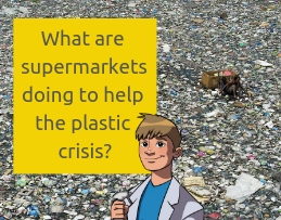 What are supermarkets doing to help the plastic crisis_