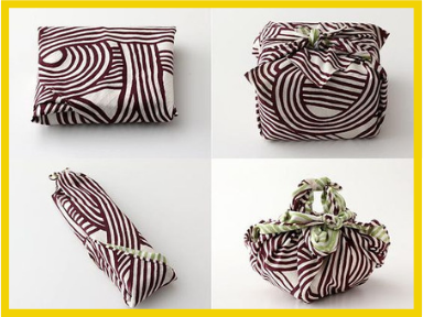 Furoshiki - gift wrapping with material
