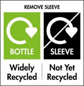 example of recycling label